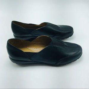 Easy Spirit Black Allegromj Slip On Loafers 8.5